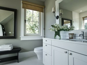 Guest suite bathroom of the HGTV Dream Home 2013 located on Kiawah Island in South Carolina.